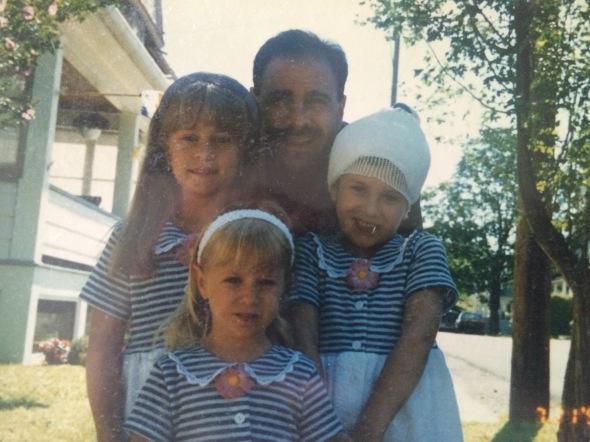 Kylie, Marissa, Dad, and Bex